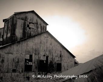 Deserted Building Photograph - Digital Download