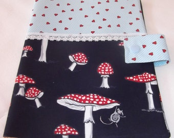 U notebook covers fly agaric