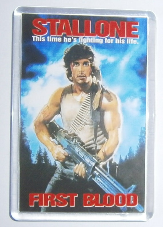 Sylvester Stallone First Blood Rambo Rocky Expendables fridge magnet New