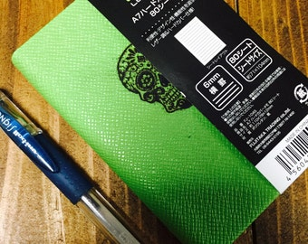 Dia de Los Muertos pocket notepad Lazer Engraved Sugar Skull FREE Shipping!