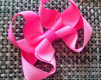 Rose Pink Boutique Bow