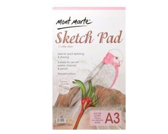 MONT MARTE Sketch Pad 150gsm 25 sheet A3