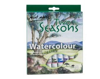 Two Seasons Watercolours 18pce 12ml