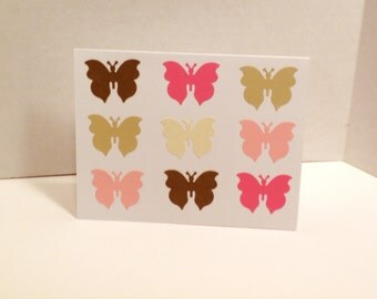 Notecard Set (Butterfly Flutter)-Stationery, Notes, Cards, Notecards, Writing Notes