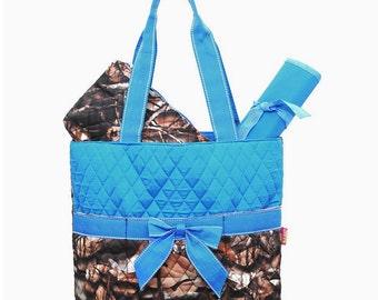 Camo Diaper Bag, 3 Piece Set, Personalized
