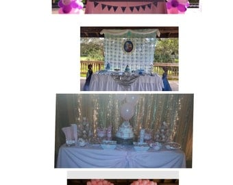 Birthday party complete package/ Baby shower complete package ANY THEME