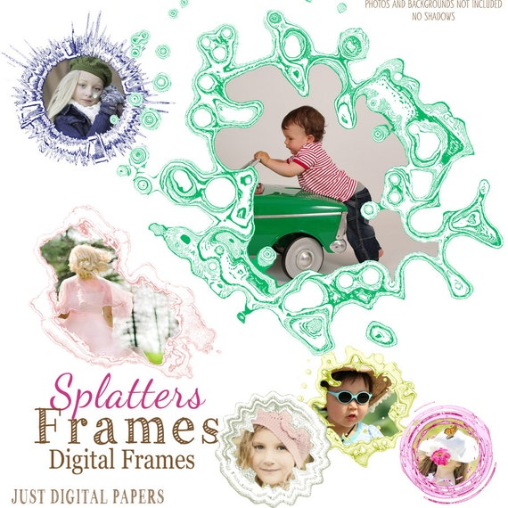 how to use splatter frame