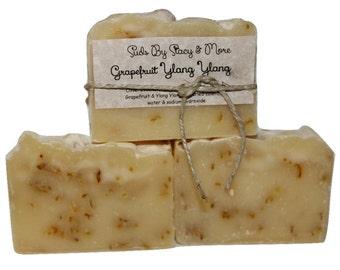 Grapefruit Ylang Ylang - Homemade Cold Process Soap