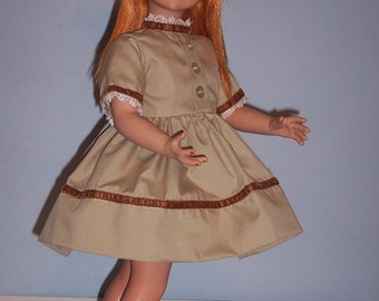 Reproduction Brown Dress for Vogue 22 inch Brikette Doll