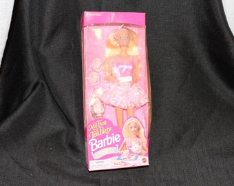 My First Tea Party Barbie Doll NOS