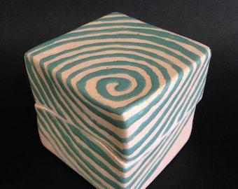 Handmade Ceramic gift box