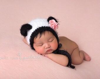 panda bonnet newborn