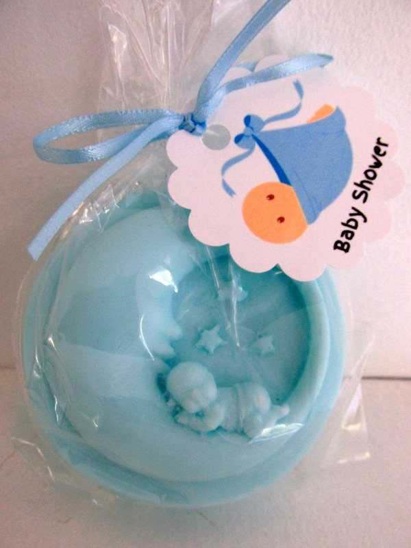 Baby Shower Soap Favors Set Of 10 Baby Moon And Stars Bath