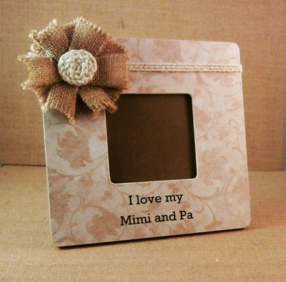 I Love My Mimi Gift Gifts For Pop Pop Frame Picture