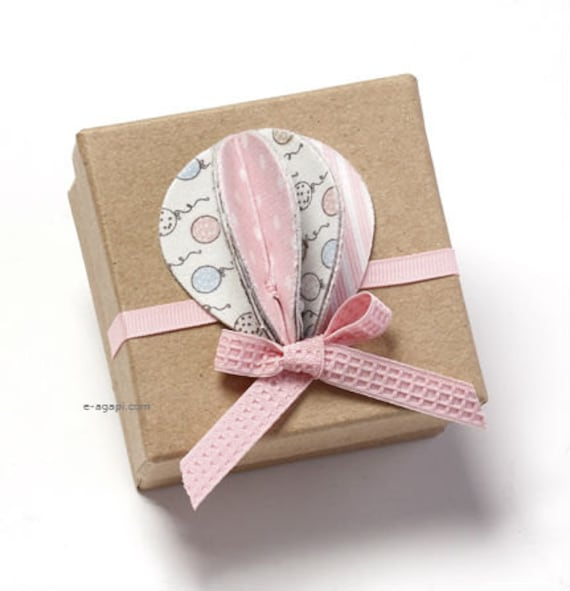 Ornament Christening Favors: Air Baloon Baptism Decorations Favor Boxes Baptism Gifts For