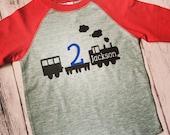 Train birthday shirt, choo choo train birthday shirt, train t-shirt, train shirt, train birthday party, choo choo train party