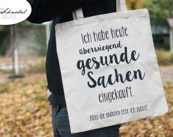 "Cool Cotton Bag ""Gesund"" Organic cotton"