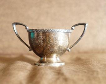 Antique Melford E.P.N.S M500 Silver Sugar Bowl
