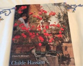 Vintage Estate Hardback Book Childe Hassam American Impressionist  by Ulrich W Hiesinger!