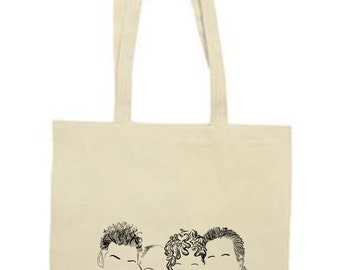 Seinfeld Outline Tote Bag