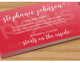 Plexus Business Cards or Magnets