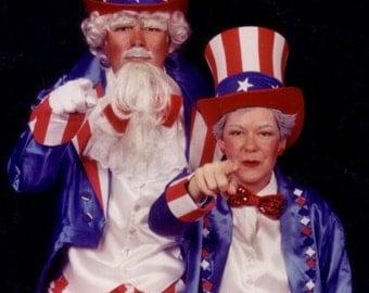 Custom Uncle Sam costume