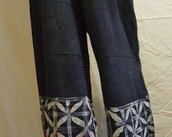 Hand designed batik pants