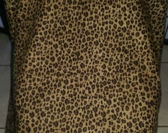 Cheetah Car Seat Cover Canopy