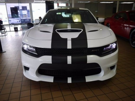2015 2016 2017 Dodge Charger 10 Plain Rally Stripe
