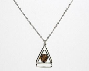 Triangle Mod Necklace