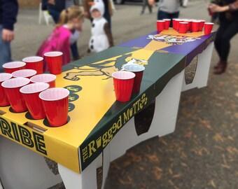 Custom Print Beer Pong Table