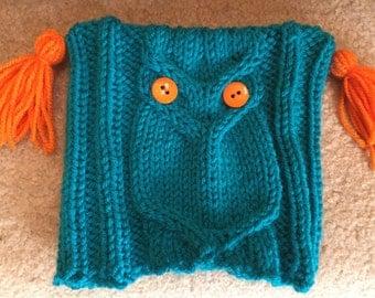 Oscar the Owl Child's Hat-Large Size