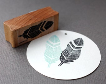 Stamp Feather 2 A097