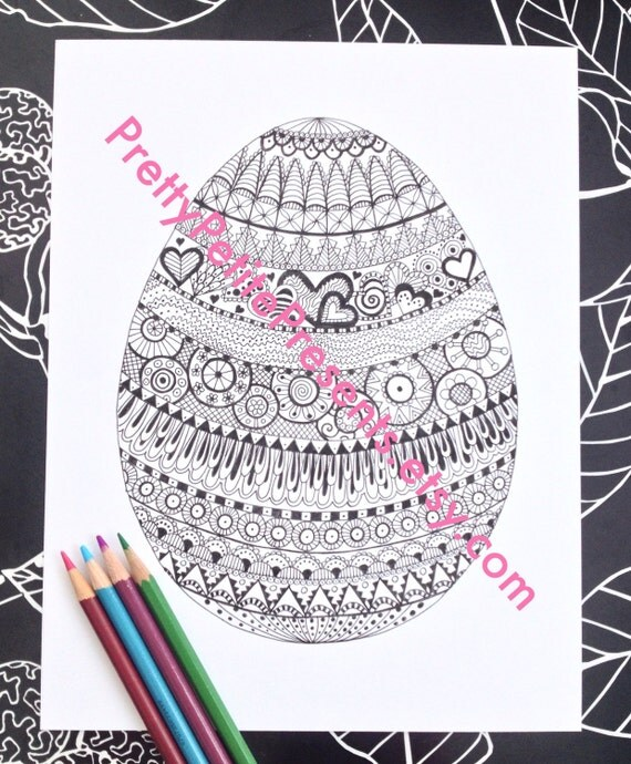 intricate alphabet coloring pages eggs - photo#23