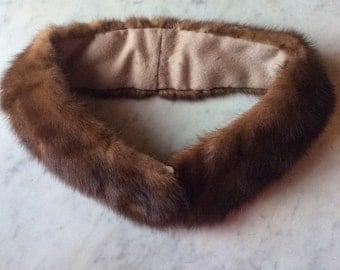 Vintage MINK collar