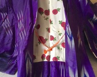 Japanese Vintage Silk KIMONO