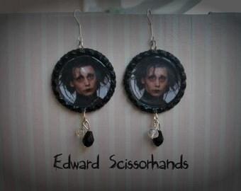 Edward Scissorhands earrings
