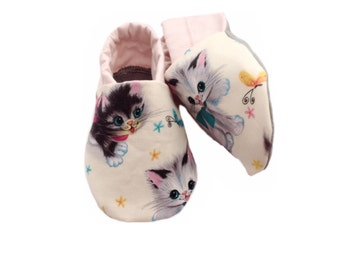 Vintage Kitten Baby Shoes