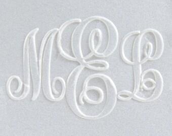 Embosser - Monogram Embosser - Custom Embosser - Classic Monogram Embosser - Personalized Embosser