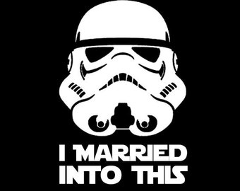 Star Wars I Married into this Custom Stormtrooper