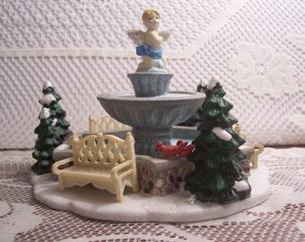 Christmas Village Town Fountain