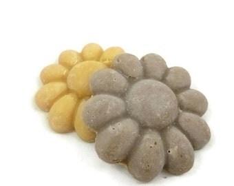 Rhassoul Clay + Almond Cream Dual Facial Cleansing System, facial soap, clay soap, cream soap, soap for normal skin, dry skin soap, soap