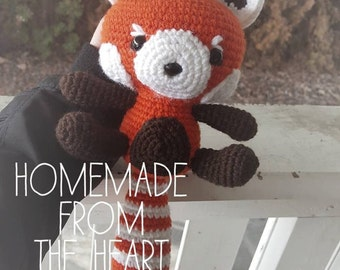Amigurumi Red Panda Plush