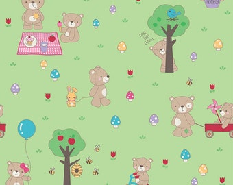 Teddy Bears Picnic by Riley Blake