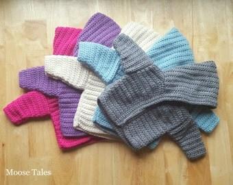 Crochet Baby Sweater, Baby Hooded Sweater, Gray Baby Sweater, Cream Baby Sweater, 3 Months, 3mo, 3 mo, Baby Sweatshirt,Baby Crochet Clothing
