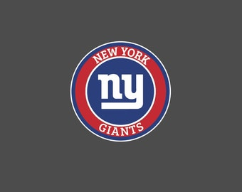 Full Color New York Giants - Die Cut Decal