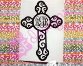 Decorative Cross with Mon...
