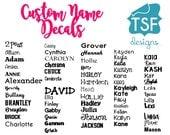 Custom Name/Phrase  Decal...