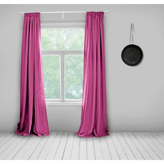 pink curtains lined hot pink made to measure curtains bespoke