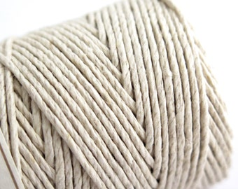 Hemptique Natural Hemp Twine Cord 62.5m
